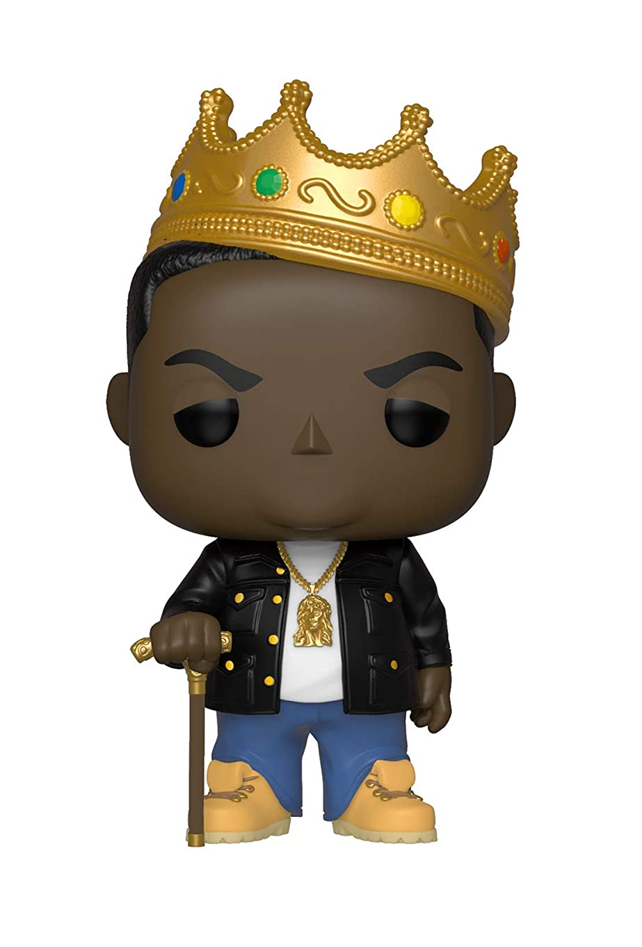 Funko Pop Rocks: Music - Notorious B.I.G. with Crown Collectible Figure, Multicolor