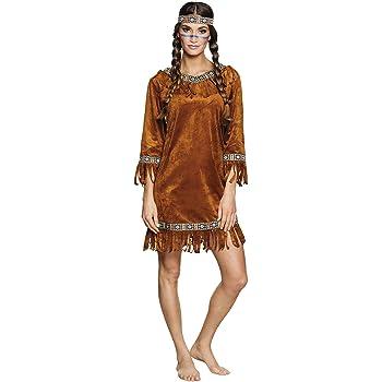 Atosa-10228 Disfraz India, color marrón, M-L (10228): Amazon.es ...
