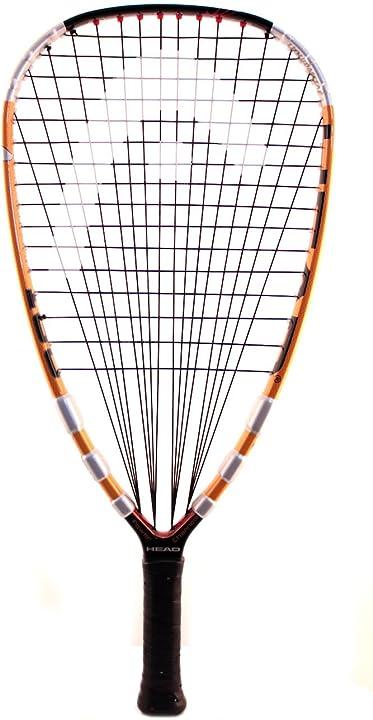 Racchetta da raquet ball head liquid metal 170/180/190 racquetball racquet series, 3 5/8