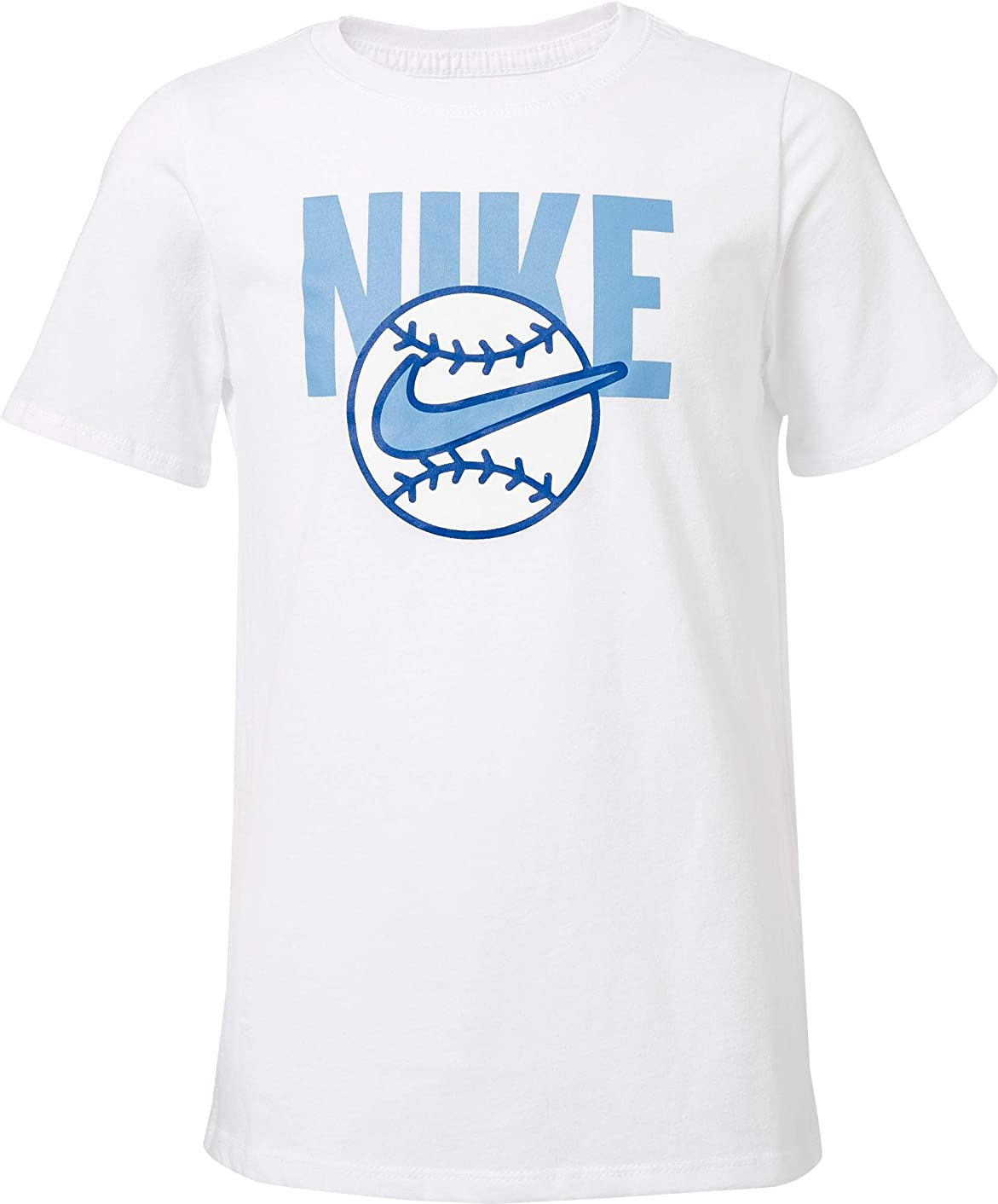 NIKE Boy's Dry Baseball Ball Graphic Tee
