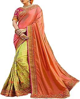 Funda trabajo Original étnico Bollywood indio novia boda sari Saree tradicional blanco Sexy 8114