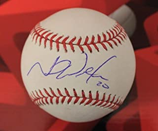 Neil Walker Autographed Signed Memorabilia And Authenticated Baseball With JSA
