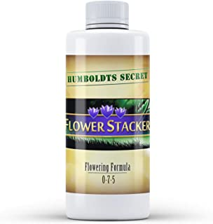 Humboldts Secret Flower Stacker – Flowering Plant Food – Nutrient System for Potting Soil for Indoor Plants & Outdoor Plants – Increase Flower Yield – Supports Flowering & Fruiting in Plants – 8 Ounce