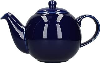 London Pottery Globe Teapot, 6 Cup Capacity, Cobalt Blue