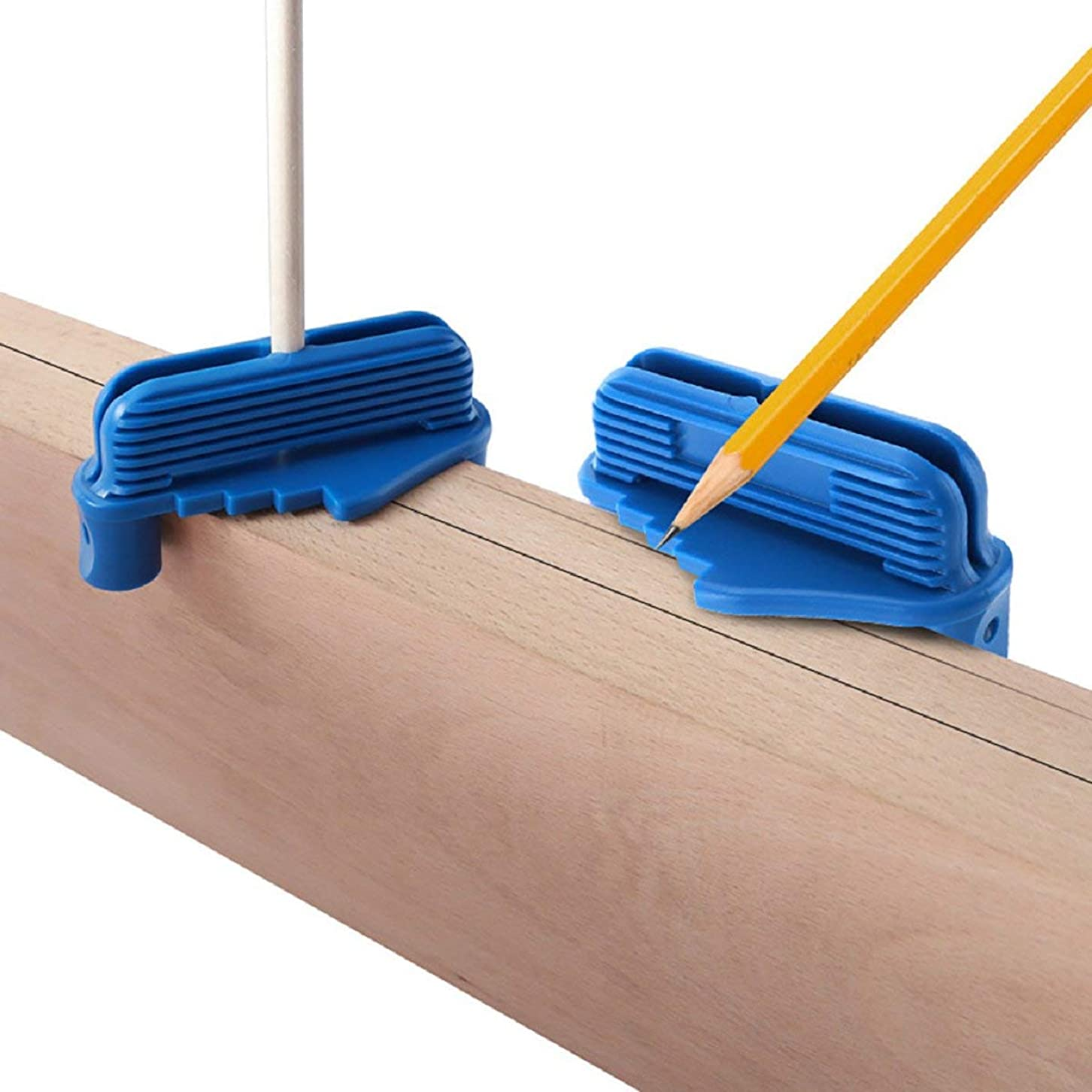 警告する擬人化委員会Putars センタースクライバー木工センタースクライブセンタースクライブロッカーセンターオフセットマーキングツールにフィット標準木製鉛筆、木工測定ツール