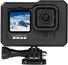 Housing Frame Case for GoPro Hero 9 Black,Vlog Aluminum Alloy Shell Case Protective Cage for GoPro Hero 8 Black with Cold ...