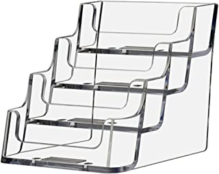 Deflecto Business Card Holder Display, Multi-Compartment, 3-7/8