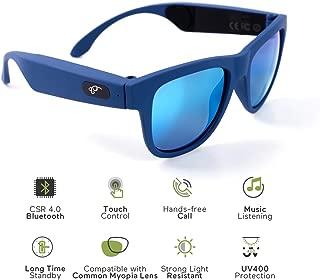 Bone Conduction Headphones Polarized Glasses Sunglasses Wireless Stereo Bluetooth Sports Headset Headphones for Outdoor Activities