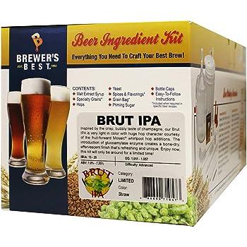 Brewer's Best Brut IPA Limited Five Gallon Beer Making Ingredient Kit
