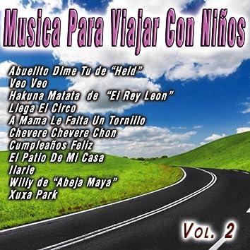 Musica Para Viajar Con Niños  Vol. 2