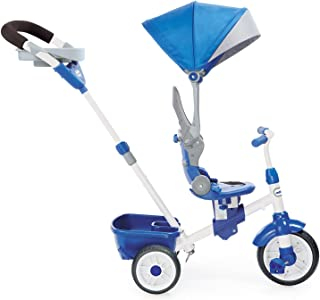 Little Tikes Perfect Fit 4-in-1 Trike Ride On, Blue