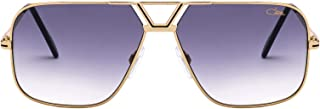 Luxury Fashion | Cazal Eyewear Mens MOD7253001 Gold Sunglasses | Fall Winter 19