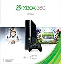 Xbox 360 500GB Console - Fable Anniversary and Plants vs Zombies: Bundle جنگ جنگی
