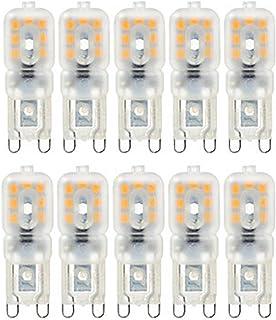 SGJFZD 10PCS Dimmable 4W G9 14LED 2835SMD 300-400 Lm Warm White Cool White LED Light Bulb Decorative LED Bi-pin Lights AC ...