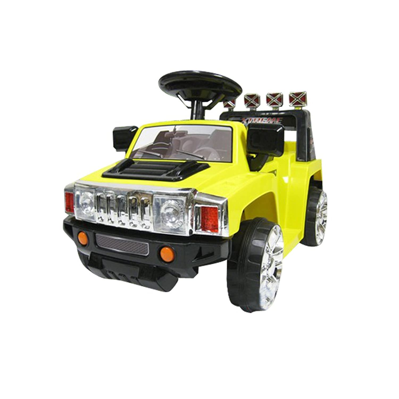 SIS 電動乗用カー 電動乗用ラジコンカー リモコン付き 充電器付き プロポ付 電動 ラジコン ラジコンカー ZPV003R お子様へプレゼント イエロー
