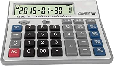 $30 » Office Electronics Basic Calculator Office Desktop Calculator Solar and Battery Dual Power Electronic Calculator Portable ...