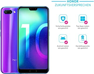 Honor 10 Dual Sim 64Gb Factory Unlocked 4G Smartphone International Version Phantom Blue