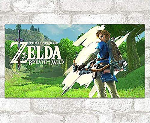 Wandaufkleber Zelda Game Wall Stickers Tapete Cartoon Wasserdichte Aufkleber Indoor Vinyl Dekorative Aufkleber 103X54Cm B