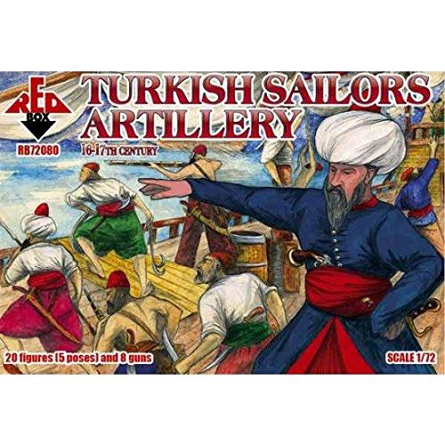 Red Box rb72080 – Modèle Kit Turkish Sailor, 16–17E siècle, Artillerie Gris