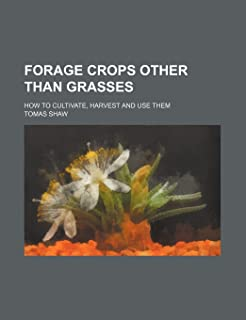 Forage Crops Other Than Grasses; How to Cultivate, Harvest and Use Them