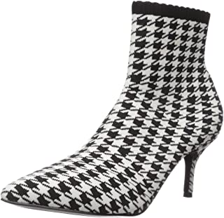 Charles by Charles David Women's Alter Ankle Boot, Black/White, 6 M US