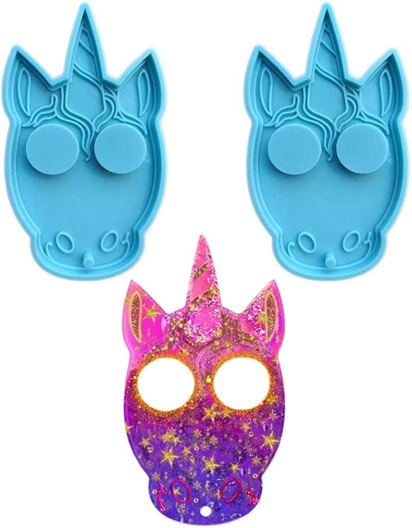 KHTAA Max 80% OFF 2pcs Unicorn Resin Mold Keychain Wholesale Pendants Jewelry Ca Epoxy