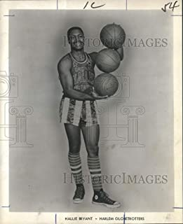 Historic Images - 1969 Press Photo Harlem Globetrotters - Hallie Bryant, Basketball Player