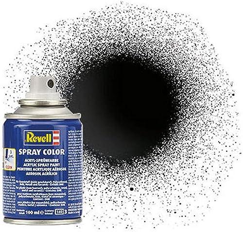 Revell - 34107 - Accessoire Pour Maquette - Noir Brillant Bombe