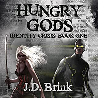 Hungry Gods audiobook cover art