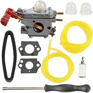 Harbot TB35EC 753-06288 Carburetor + Adjustment Tool + Air Filter for Troy Bilt TB2040XP TB2044XP TB35EC TB2MB TB430 TB225 25CC MTD Craftsman Trimmer Leaf Blower