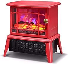 XIANWEI Chimenea - calefacción for Toda la casa, pequeña simulación eléctrica de Calentamiento por Llama Chimenea/Oficina en casa Calentador eléctrico 228 * 213 * 312 mm (Color : C)