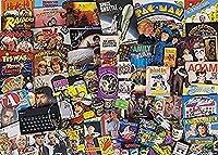 DSJHK 大人のためのパズルジグソーパズル1000ピースの有名な音楽アルバム教育玩具レジャーDiyゲームギフト75Cmx50Cmパズルジグソー