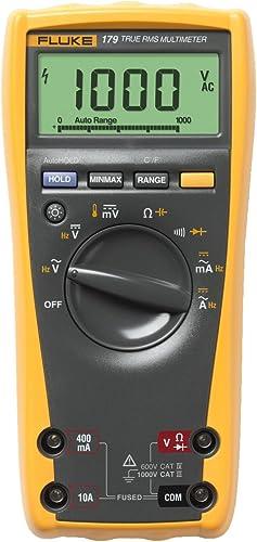lowest Fluke 2021 179 ESFP True RMS Multimeter with outlet sale Backlight and Temp online sale