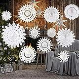 TUPARKA White Paper Snowflake Decorations...