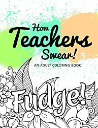 Novelty teacher colouring book