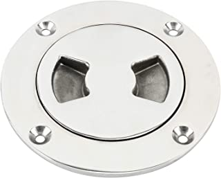 Amarine Made 3 Heavy Duty 316 Marine Grade Stainless Steel Boat Deck Plate Hatch