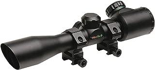 TRUGLO Crossbow Scope 4x32 IR with Rings Black