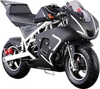 USA Big Toys Cali 40cc Gas Pocket Bike in White