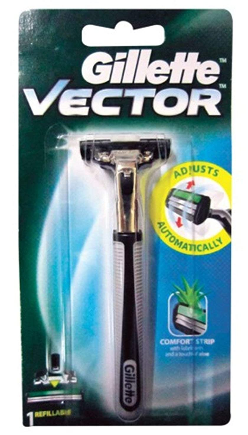 アーネストシャクルトンマウントカスケードGillette Vector Razor 1 PC. From Thailand