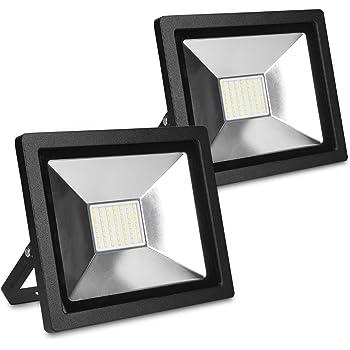 LED Fluter Flutlicht Strahler Scheinwerfer Gartenlampe Außenstrahler Boutique de