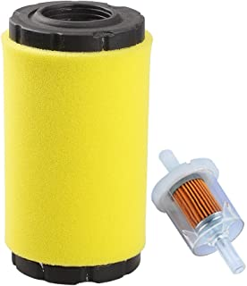 Hipa 793569 793685 Air Filter/Pre Filter with Fuel Filter for Briggs & Stratton John Deere LA125 D120 Mower Tractor