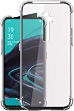 Jkobi Silicon Flexible Shockproof Corner TPU Back Case Cover For OPPO Reno2 / OPPO Reno 2 -Transparent