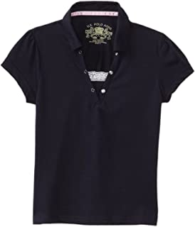 U.S. POLO ASSN. Girls' Polo Shirt (More Styles Available)