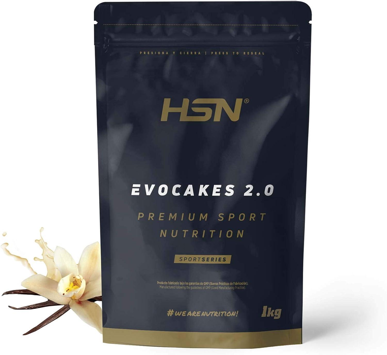 Tortitas Proteicas de HSN Evocakes 2.0 | Protein Pancake | Preparado de Tortitas de Avena + Claras + Whey | Tortitas Fáciles y Rápidas de Hacer | Apto ...