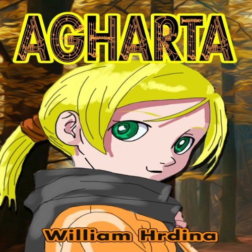Agharta audiobook cover art