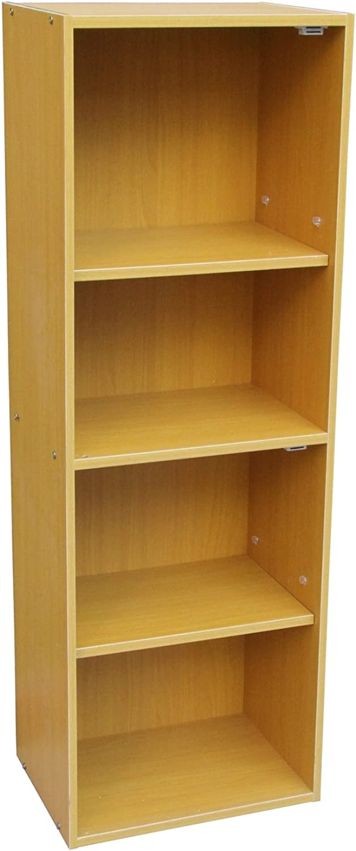 ORE International JW-197 Adjustable 4-Tier Book Shelf