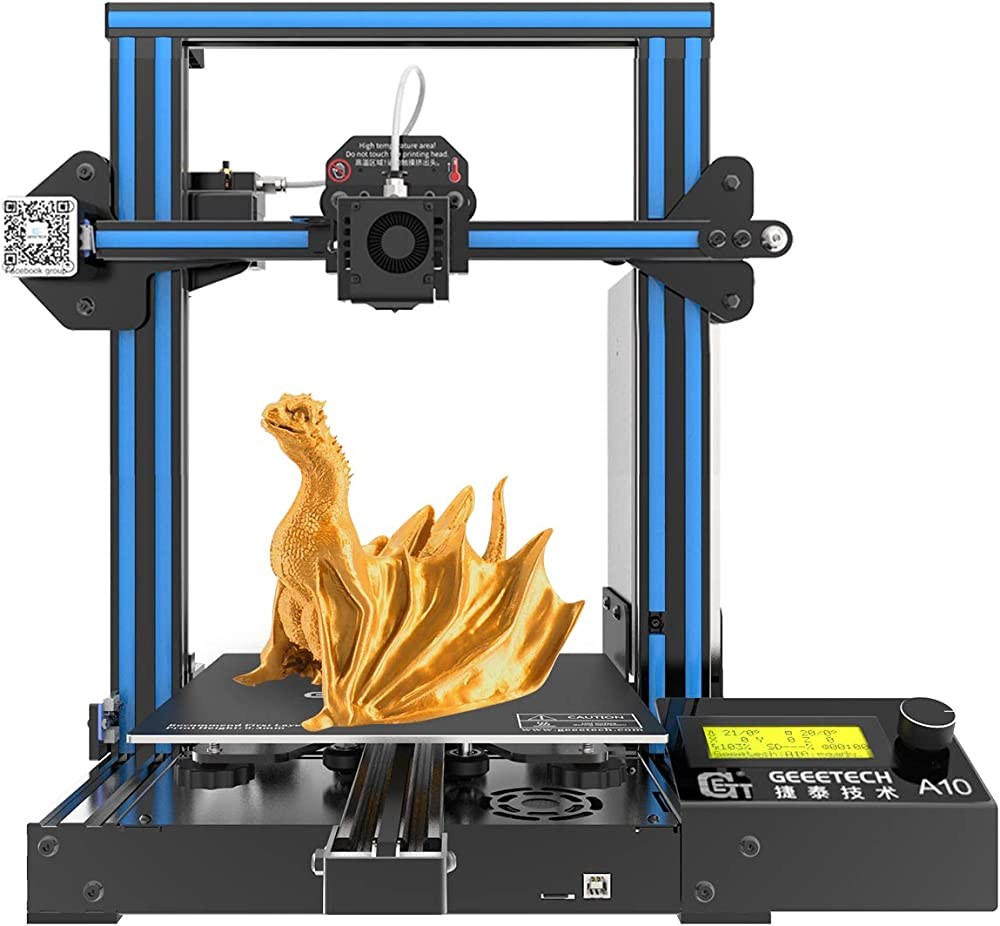 Geeetech a10 pro stampante 3d prusa,scheda madre gt2560 4.1b open source GT-A10