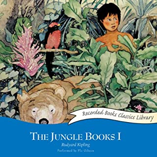 The Jungle Books I audiobook cover art