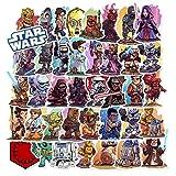 CHUDU Star Wars Graffiti Stickers Pegatinas de Equipaje Impermeables Pegatinas de Coche 50 Hojas