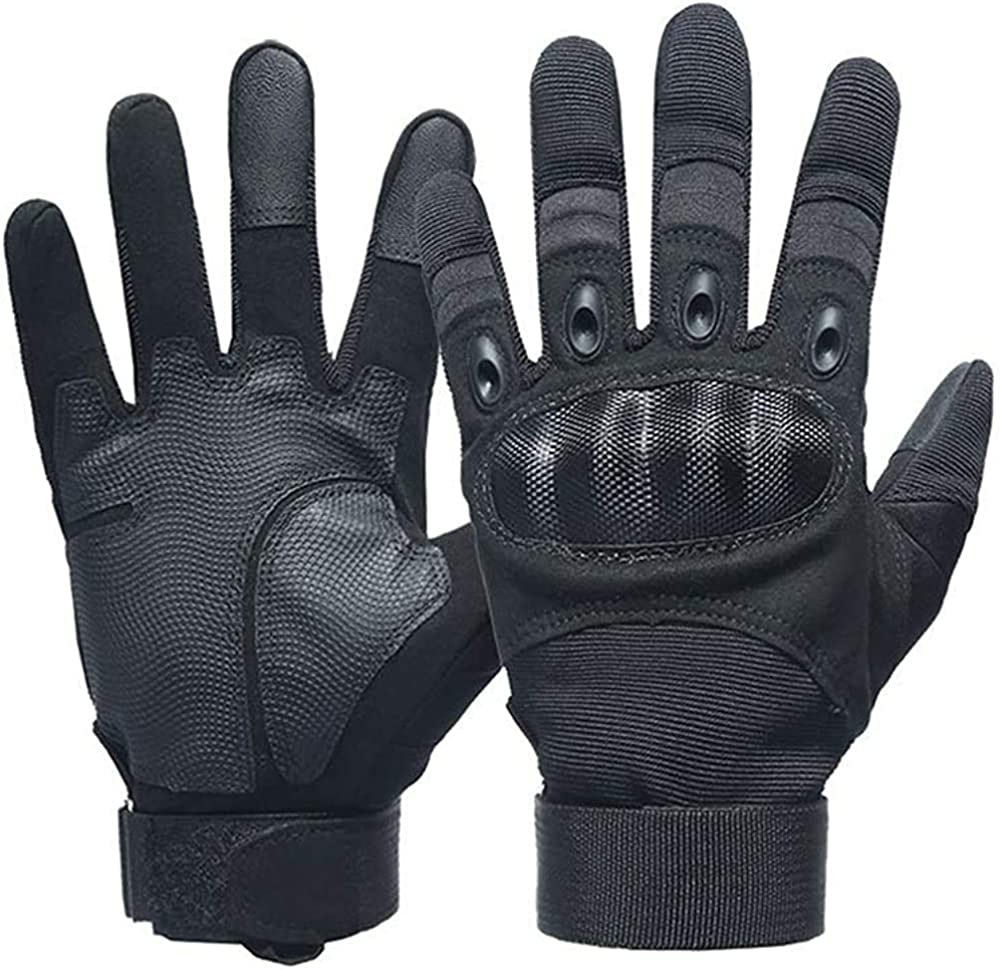 Man military gloves outdoor military training shooting gloves (XL)